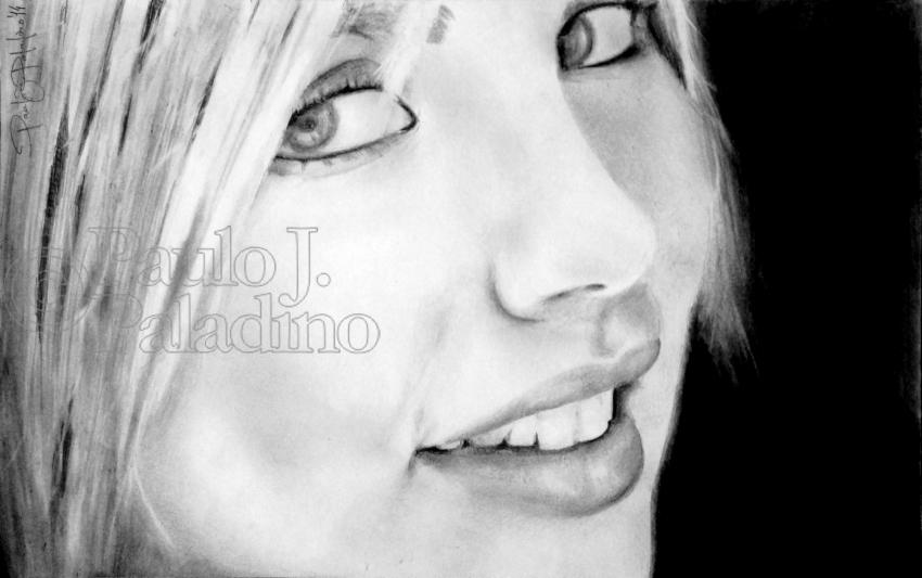 Francesca Ferretti by Paladino
